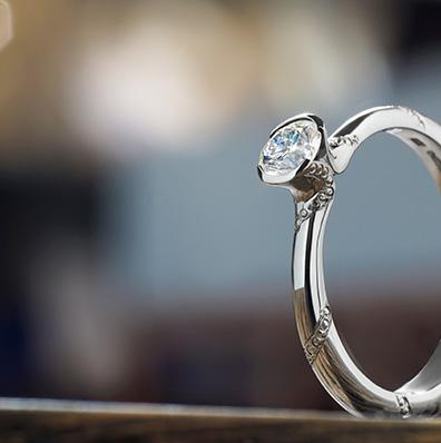Engraved Engagement Rings Galleries Harriet Kelsall