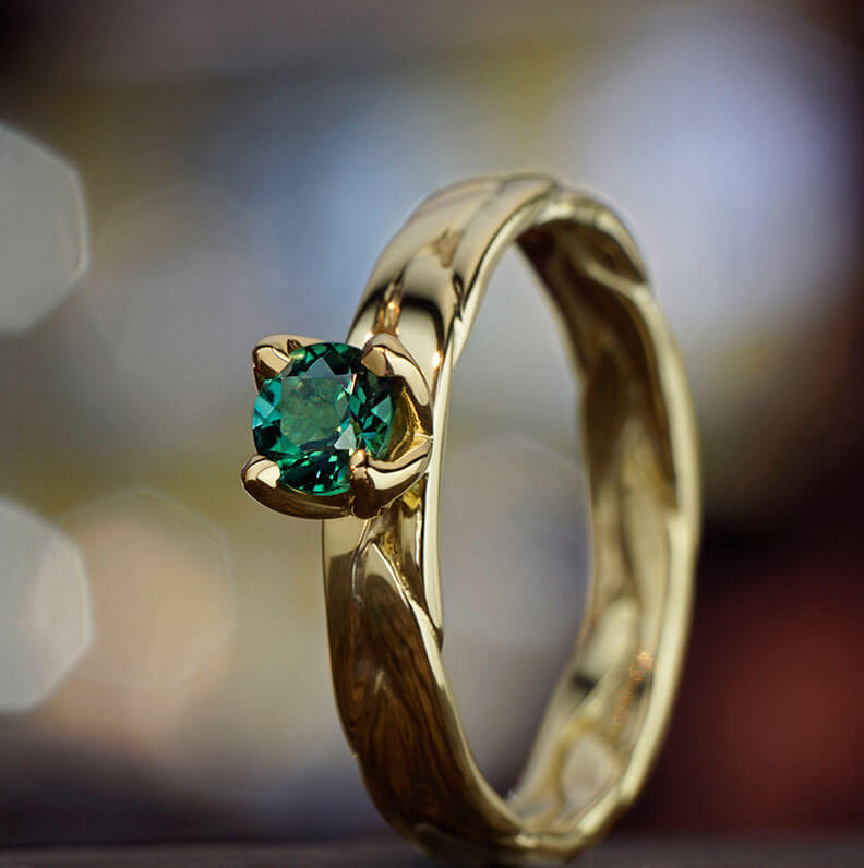 Gallery of Yellow Gold Engagement Rings
