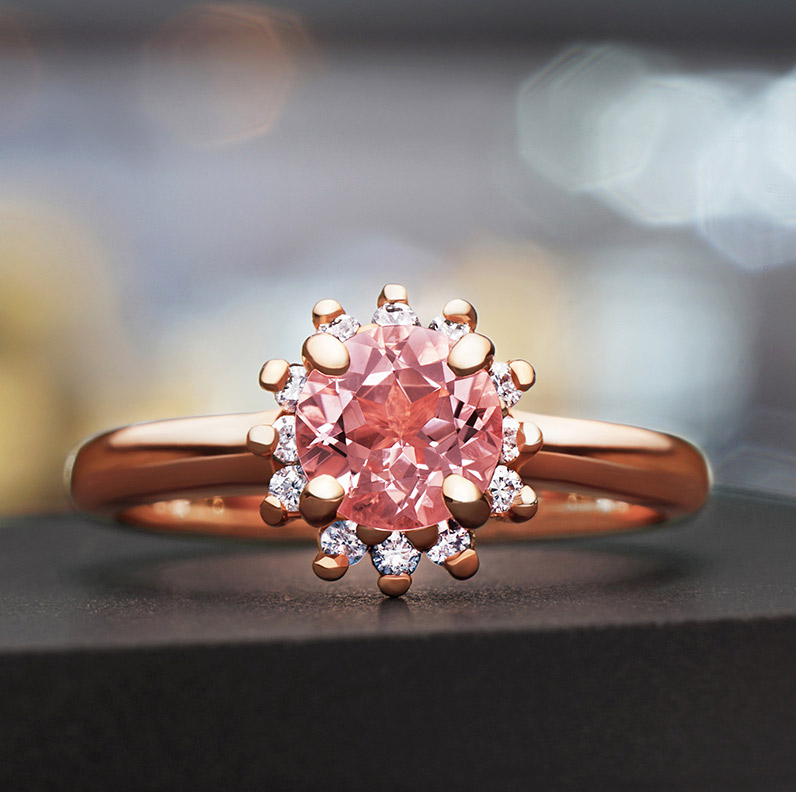Gallery of Morganite Engagement Rings