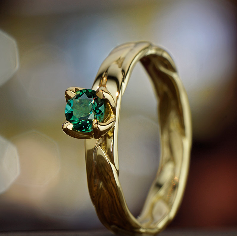 Gallery of Tourmaline Engagement Rings