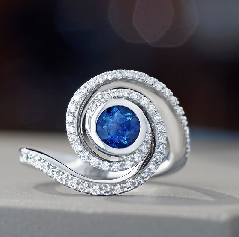 Gallery of Sapphire Engagement Rings