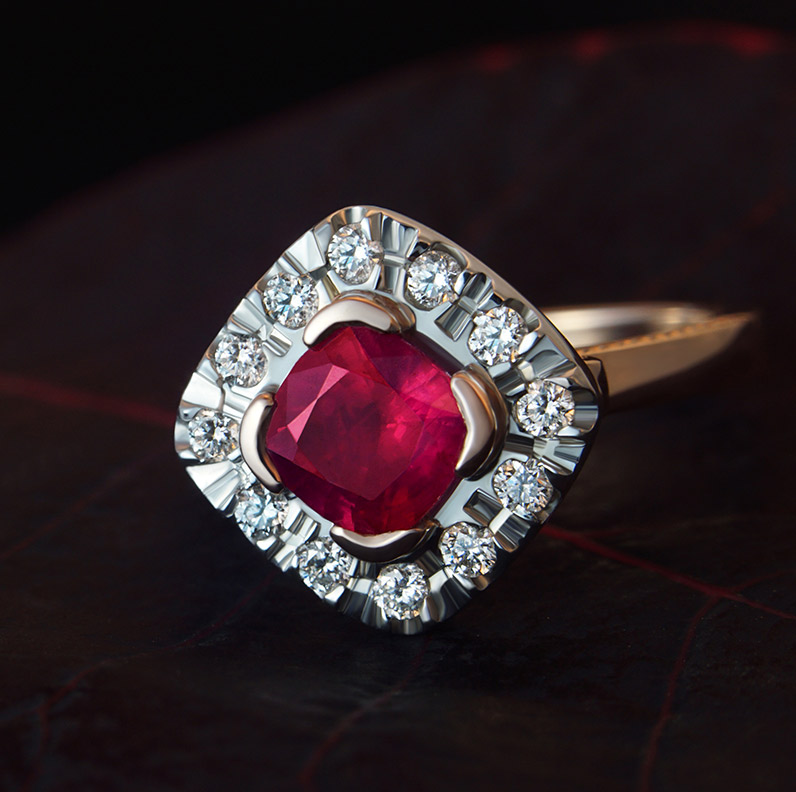 Gallery of Ruby Engagement Rings