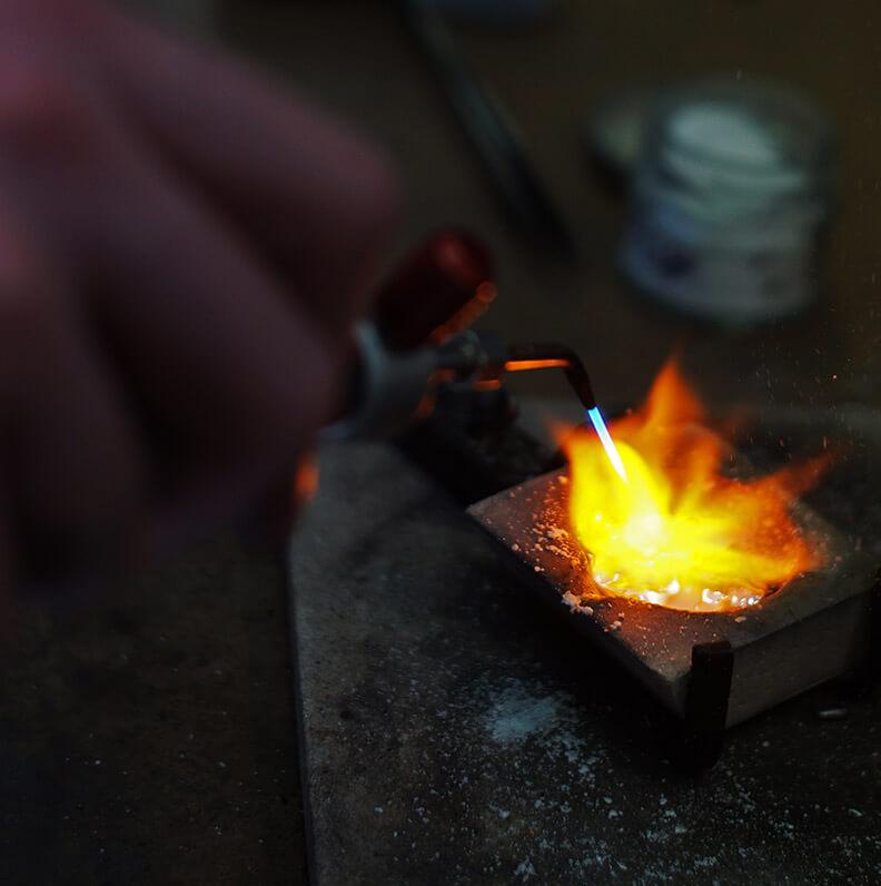 Reusing metal