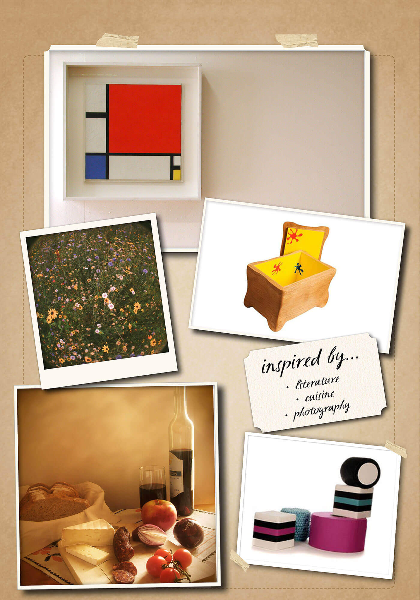Inspiration Board for Amy Vinn