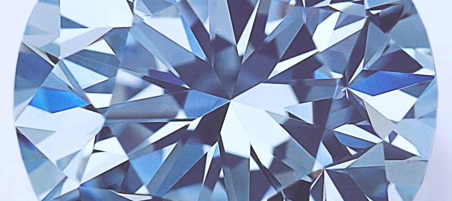low photo blue crystals or diamond poly concept background texture stock with facet