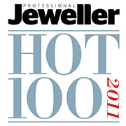 Hot 100 Listing- Professional Jeweller Magazine, 2012