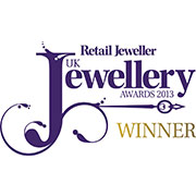 Boutique Retailer of the Year- UK Jewellery Awards, 2013
