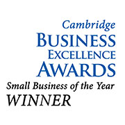 Small Business of the Year-Cambridge Business Excellence Awards, 2012
