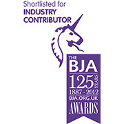 Industry Contributor of the Year Finalist- The British Jewellers Association, 2013