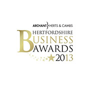 Small Business of the Year Finalist- Hertfordshire Business Awards, 2013