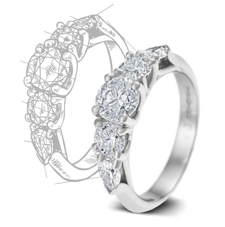 bespoke engagement rings harriet kelsall