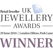 UK Jewellery Awards 'Bridal Jewellery Retailer of the Year 2016'