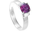 pink sapphire diamond