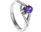 kate purple sapphire