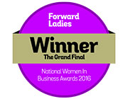 Harriet Kelsall: Retail Businesswoman of the Year-Forward Ladies Women in Business Awards 2016-Grand Final