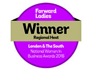 Harriet Kelsall: Retail Businesswoman-Forward Ladies Women in Business Awards, 2016