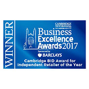 Cambridge News Business Excellence Awards, 'Independent Retailer of the Year 2017'