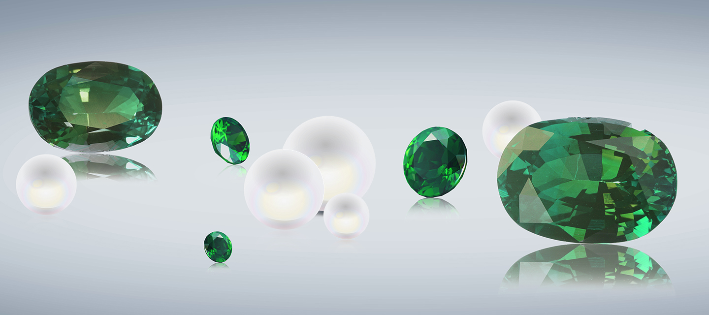Spring to summer birthstones for bespoke jewellery