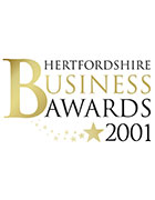Hertfordshire Business Awards, 'Best Internet Site', 2001