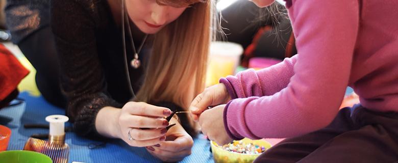 October Half Term Jewellery Making Workshop 2017