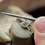 Handmaking a bespoke engagement ring (2)