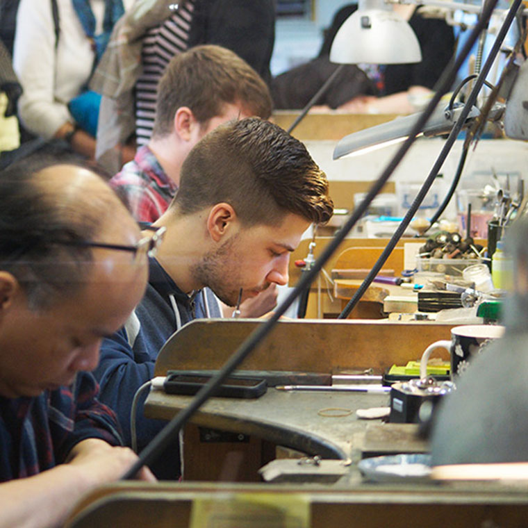 Sterling Silver Workshop at The Fitzwilliam Museum