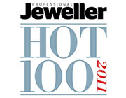 Hot 100 Listing- Professional Jeweller Magazine, 2011
