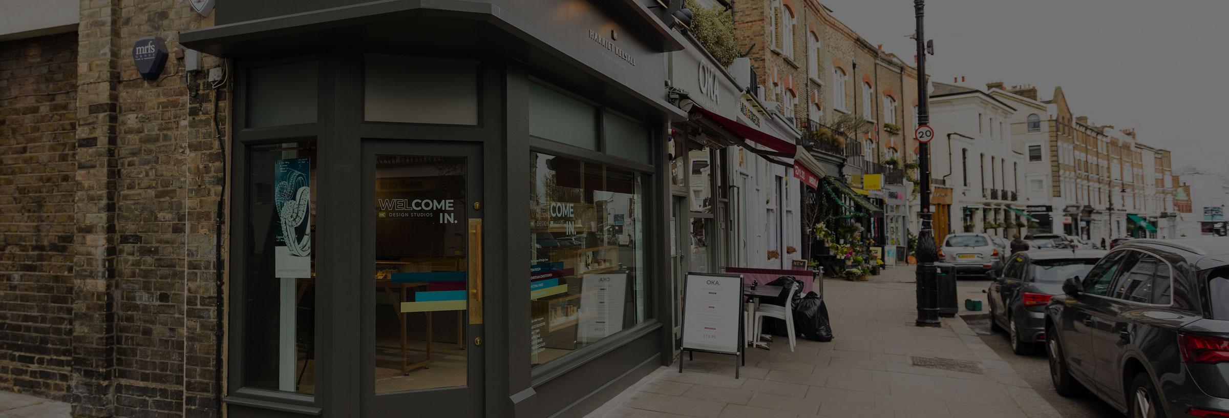 Photos of the London Studio