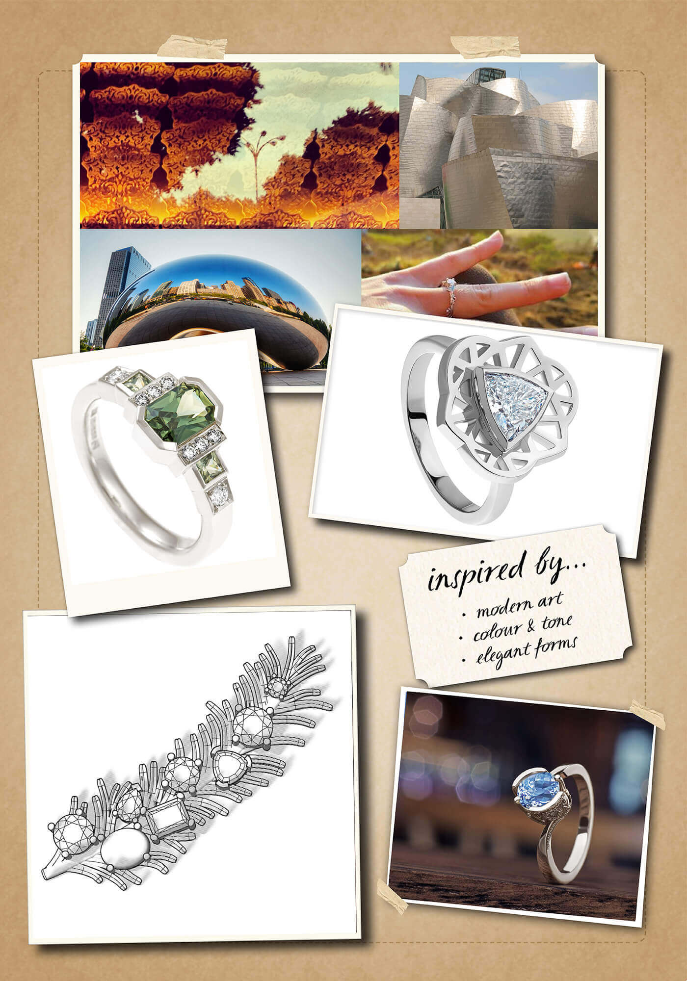 Inspiration Board for Laurie McGrath