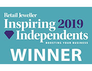 Retail Jeweller Inspiring Independents , Best Use Of Visual Merchandising and Store Design Winner 2019