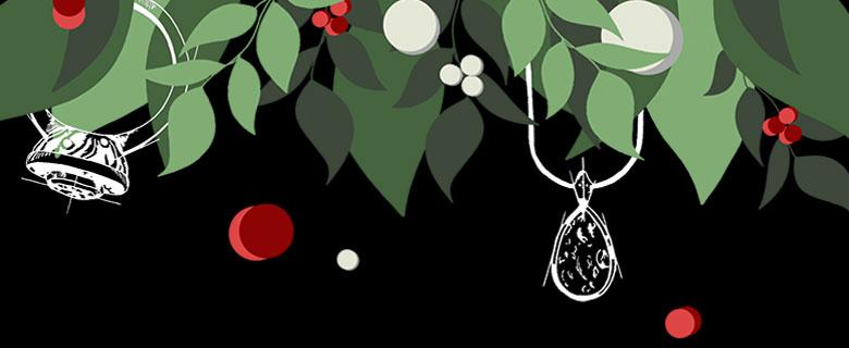 Celebrate Christmas 2019 with Harriet Kelsall Bespoke Jewellery