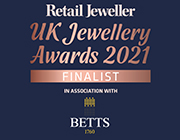 UK Jewellery Awards, 'Ethical Jewellery Retailer of the Year' Finalist 2021