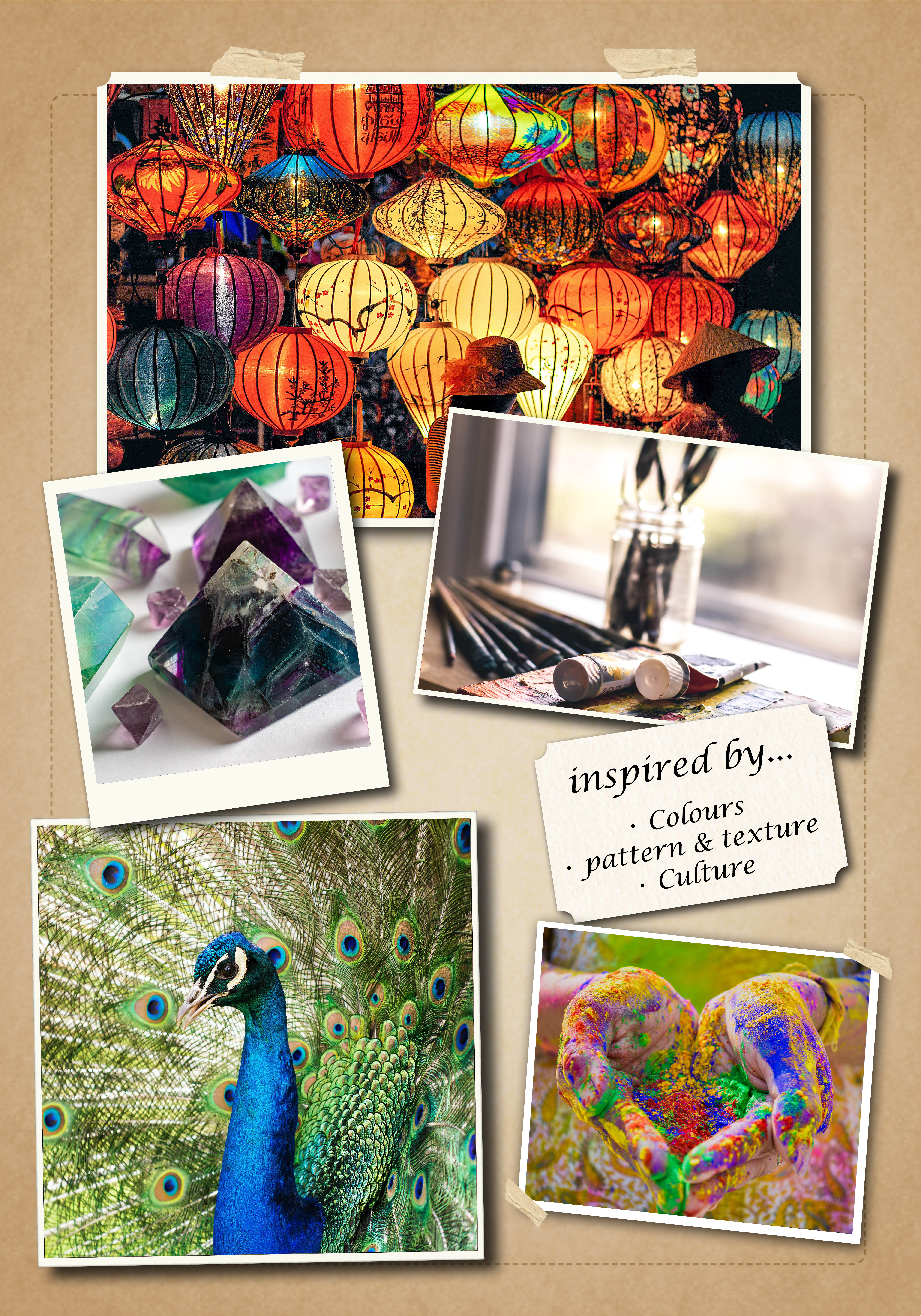 Inspiration Board for Emily Gilham